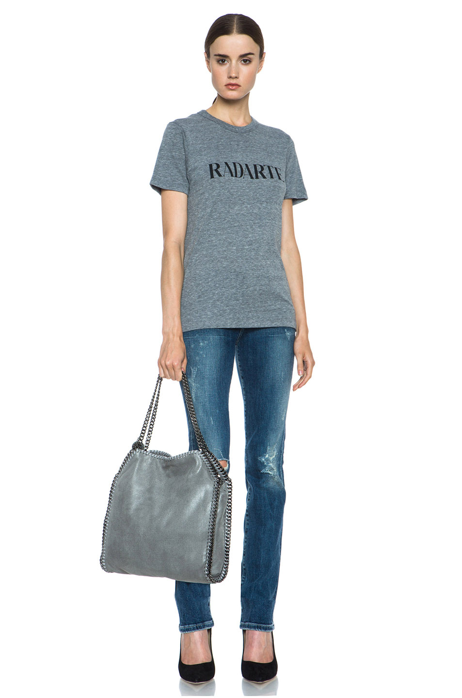 Rodarte|Radarte Shirt in Heather Grey