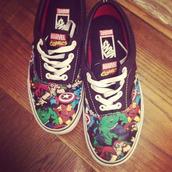 shoes,vans,marvel