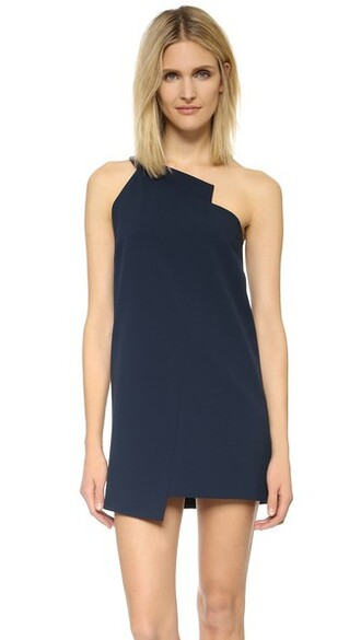 dress shift dress navy