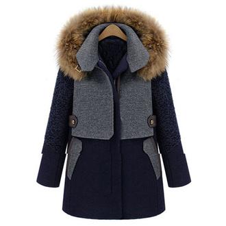 wool winter coat grey coat christmas gift