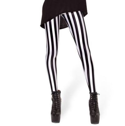 Stripe leggings · viibrant fashion · online store powered by storenvy