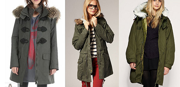 khaki hooded parka - jackets - coats / jackets - women - River Island