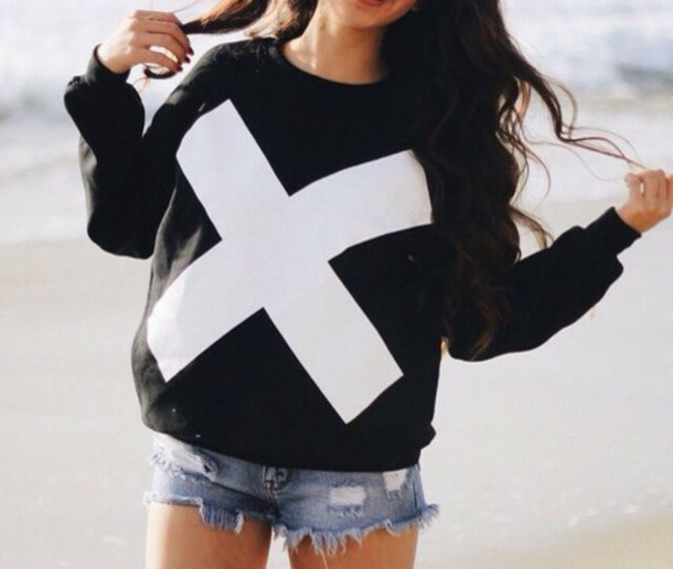 sweater black sweater