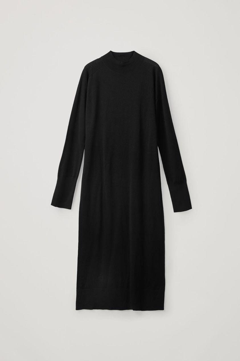 LONG MERINO DRESS