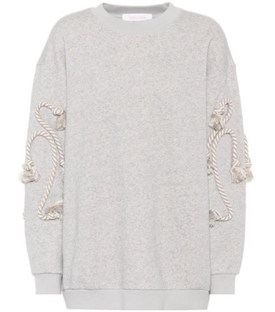 See by Chloe sweatshirt cotton grey sweater