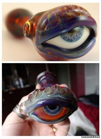jewels weed marijuana pipe pipes pipe/smoking cannabis eye eyes red blue blue glasses blue eye green eyes green yellow