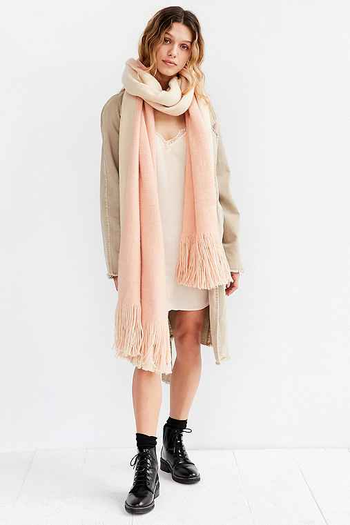 c775ef64750 Extra Large Cozy Fringe Scarf - Urban Outfitters