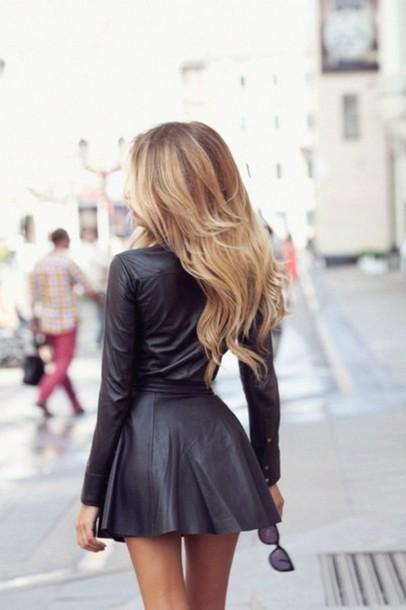 latex girl amazing latex dress short dress long arms leather skirt dress black dress skirt black dress leather black skater dresss black leather leather dress short dress skirt