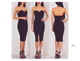 dress black strapless dress bodycon bodycon dress midi midi dress summer summer dress summer outfits spring spring dress spring outfits cute cute dress girly girly dress sexy sexy dress sexy party dresses date outfit birthday birthday dress romantic romantic summer dress romantic dress clubwear club dress graduation dress