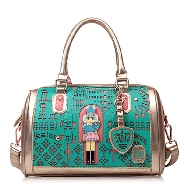 bag fahsion pop handbag shoulder bag green