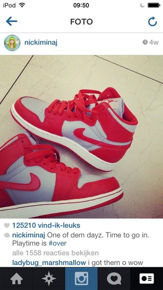 shoes grey grey shoes nike red red shoes