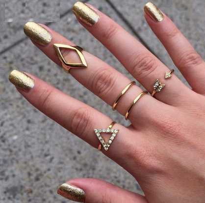 Sterina 5pcs set stacking ring