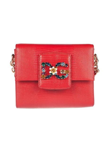 Dolce & Gabbana mini shoulder bag mini bag shoulder bag red