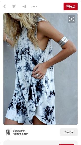 dress marble look white dress black and white mini dress