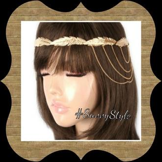 hair accessory headpiece headband headchain headband gold lush hot headchain head jewels head chains head dress gold jewelry gold chain gold headband gold headpiece gold head piece