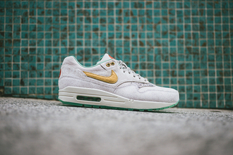 shoes gold grey nike air max year of the horse snake