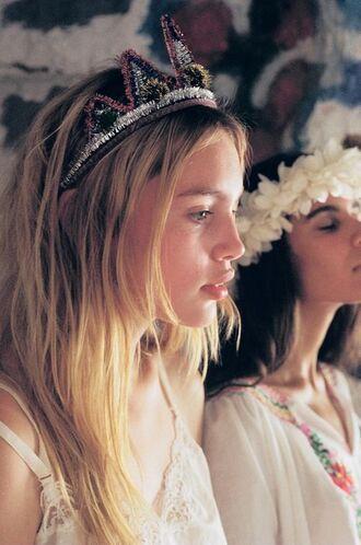 hair accessory tiara crown headband gypsy boho party festival