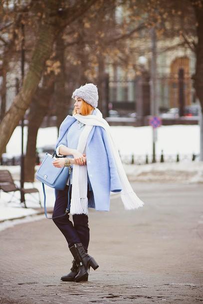 gvozdishe blogger coat sweater blouse pants bag shoes