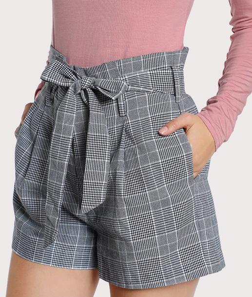 shorts girly plaid plaid shorts gingham shein summer shorts