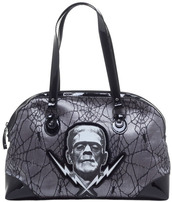 bag,purse,goth,alternative,dark,grey bag,handbag