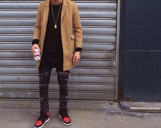 coat camel coat long camel coat beige jacket zara trench coat topshop asos