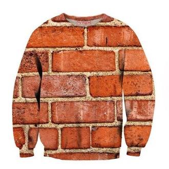 sweater fashion style jumper top hoodie sweatshirt 3d sweatshirts grunge sweater t-shirt crewneck indie