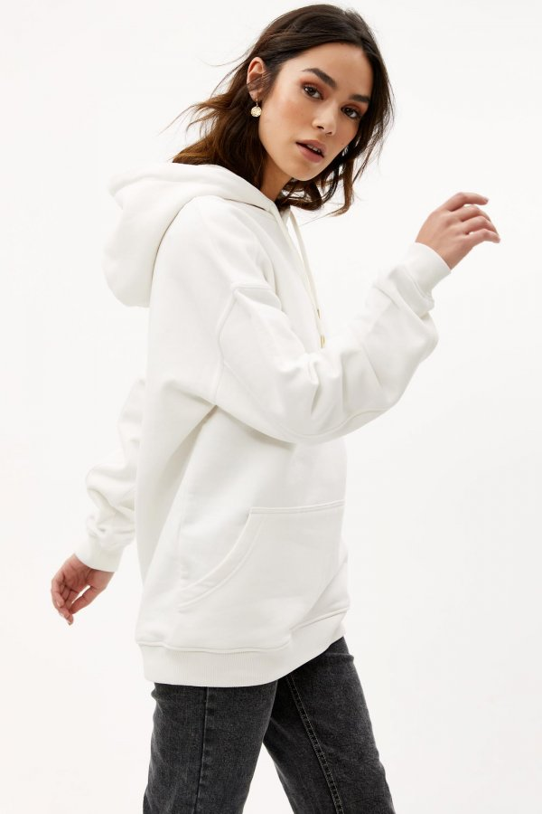 Loavies off white oversized hoodie | Loavies