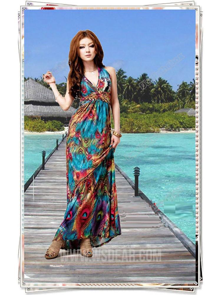 Halter Neck Beach Dresses