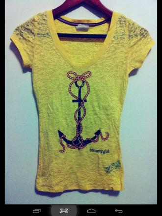 shirt yellow top women tshirts loose tshirt