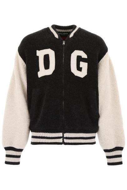 Dolce & Gabbana Dg Logo Bomber Jacket