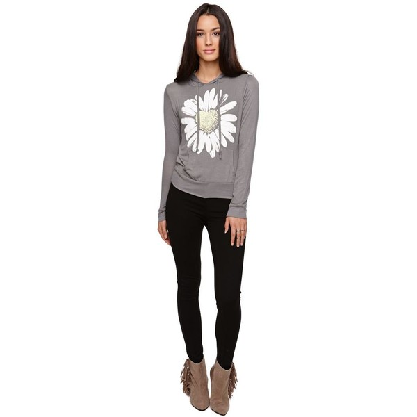 Workshop Daisy Long Sleeve Tee - Polyvore