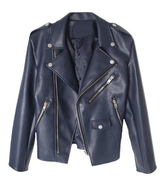Leather jacket - Song - Leather jackets - Jackets & Outerwear - Women - Modekungen