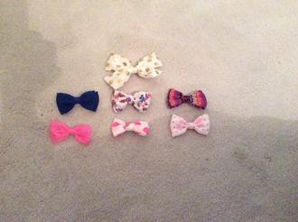 hair accessory bows bows cute fun