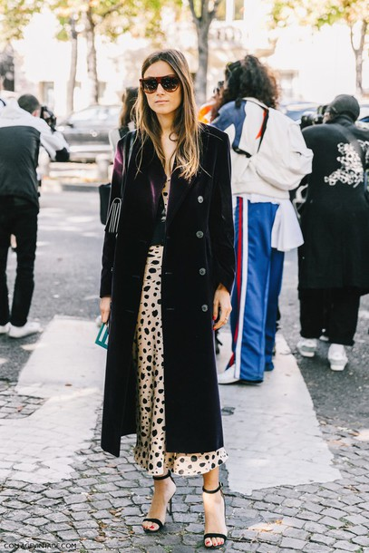 Coat Fashion Week Street Style Fashion Week 2016 Fashion Week Paris Fashion Week 2016