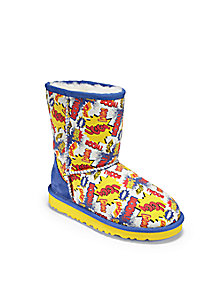 UGG Australia - Infant's, Toddler's, & Kid's Classic Short Comic Boots - Saks Fifth Avenue Mobile