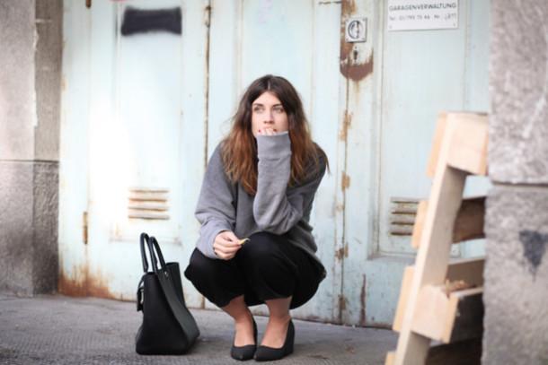vienna wedekind sweater shoes bag