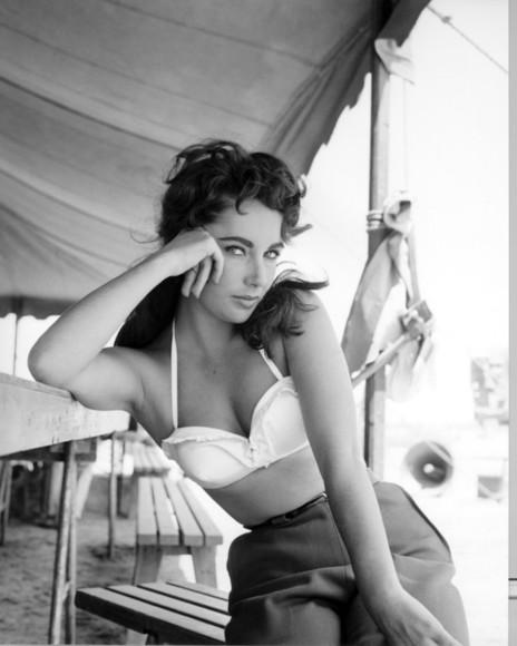 vintage 60s style Pin up underwear vintage lingerie elizabeth taylor