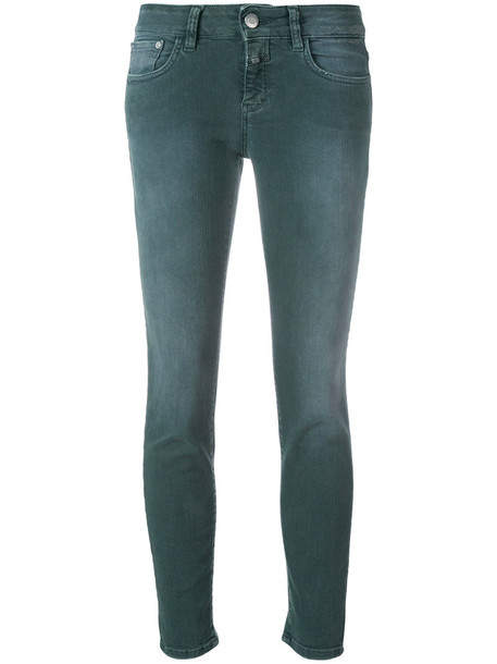 Closed jeans skinny jeans women spandex cotton grey