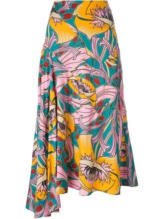skirt floral print