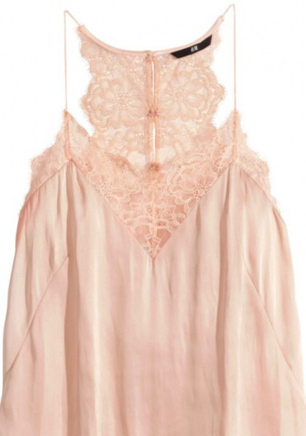 blouse nude lace top fashion silk top