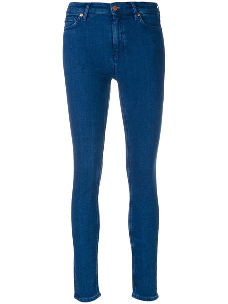MIH Jeans jeans skinny jeans women spandex cotton blue