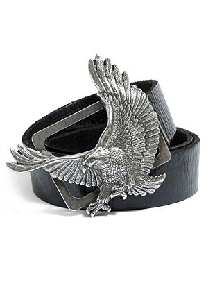 Eagle Buckle Belt | GUESS.ca