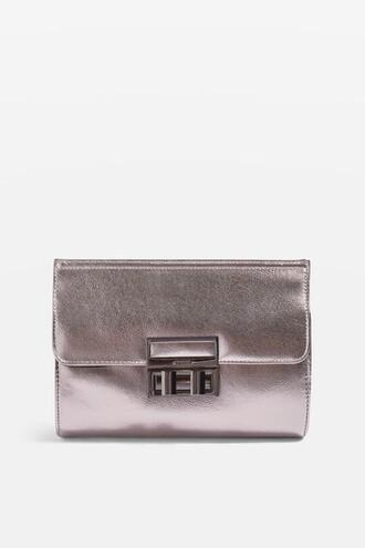 metallic bag clutch metallic clutch
