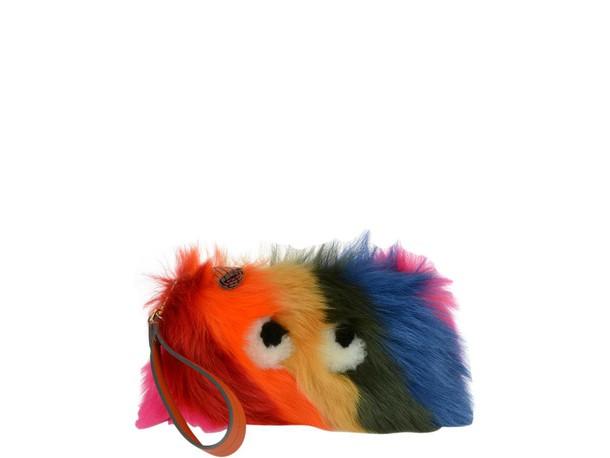 Anya Hindmarch clutch multicolor bag