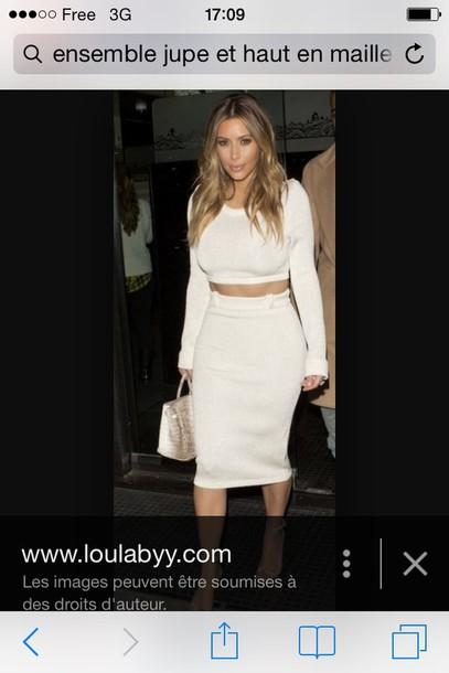 skirt the skirt and top bandage