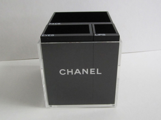 make-up chanel make up box phone cover bag chanel makeup bag make up case