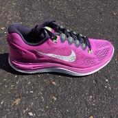 shoes,nike,lunarglide,purple,running,fitness,sportswear