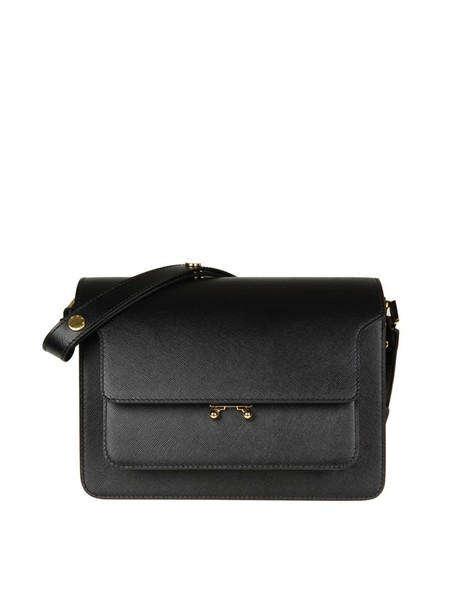 MARNI bag leather black black leather