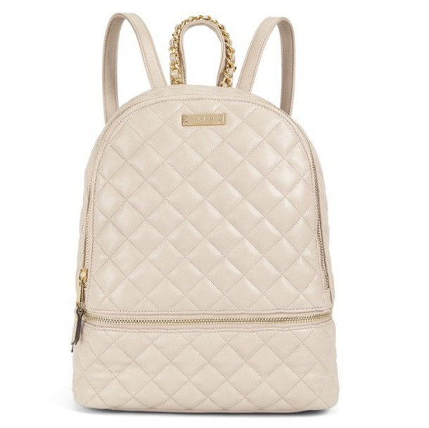 Bag: style, leather, cream, tan, backpack, back to school ...