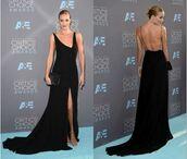 dress,gown,rosie huntington-whiteley,slit dress,backless dress,long prom dress,long dress,black dress